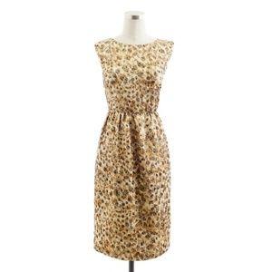 J. Crew Collection Lucille Dress Brocade Cheetah 2